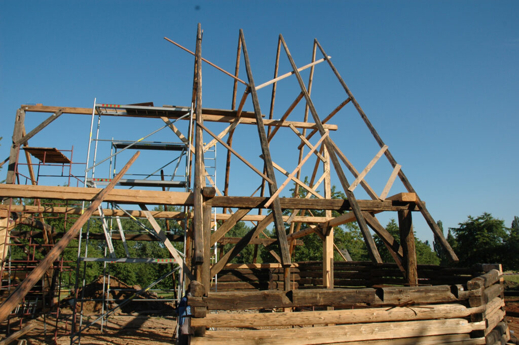 FORTNA STAV Polygonální stodola